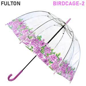 フルトン FULTON 傘 雨傘 長傘 バードケージ BirdCage-2 Comming up Roses レディース  L042 7F3545 新品 並行輸入 決算SSP|pre-ma