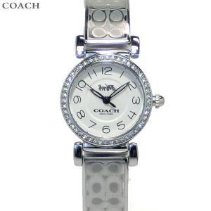 コーチ COACH  レディース 腕時計 マディソン 14502870 シルバー バングル|pre-ma