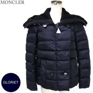 モンクレール  GLORIET ダウンジャケット リアルファー レディース 779/ネイビー サイズ(00)限定 MONCLER【アウトレット-n20】|pre-ma