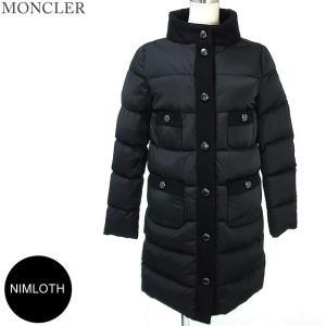 モンクレール  NIMLOTH ダウン ロングコート サイズ(1)999 ブラック レディース MONCLER ニムロス 144782 N32|pre-ma