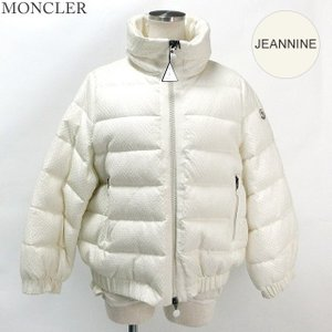 モンクレール JEANNINE ダウンジャケット レディース Col.034/ホワイト系 MONCLER サイズ(1) 限定【アウトレット訳あり-H18】|pre-ma