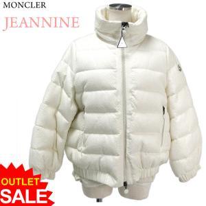 モンクレール JEANNINE ダウン ジャケット レディース Col.034/ホワイト イタリア製 MONCLER サイズ(1) アウトレット-H18|pre-ma