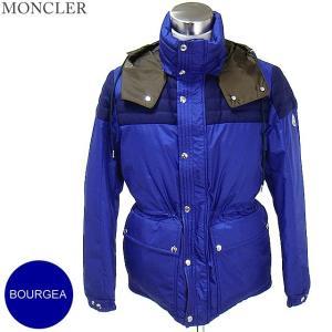 モンクレール BOURGEAT ダウンジャケット メンズ  758/ブルー サイズ(3)限定  MONCLER【アウトレット-n06】|pre-ma