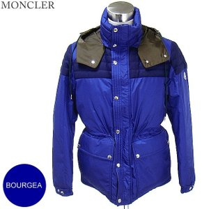 モンクレール  ダウン ジャケット BOURGEAT メンズ  サイズ(3)758/ブルー MONCLER  N06|pre-ma