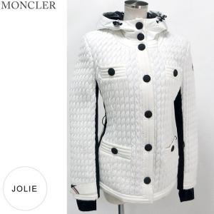 モンクレール グルノーブル JOLIE ダウンジャケット 034/ホワイト レディース  サイズ(1) MONCLER 【アウトレット訳あり-H09】|pre-ma