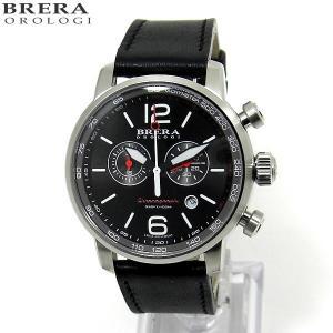 ブレラ オロロジ BRERA OROLOGI メンズ 腕時計 クロノグラフ DINAMICO BRDIC4401 ブラック【アウトレット展示品】|pre-ma