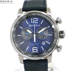 ブレラ オロロジ BRERA OROLOGI メンズ 腕時計 クロノグラフ DINAMICO BRDIC4403 ネイビー【アウトレット展示品】|pre-ma