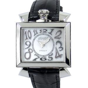 ガガミラノ GaGa MILANO レディース 腕時計 ナポレオーネ 6030.5 ブラックレザー 【アウトレット展示用】|pre-ma