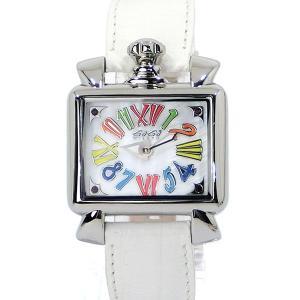 ガガミラノ レディース 腕時計 ナポレオーネ BABY 6035.01 ホワイト GaGa MILANO NAPOLEONE BABY|pre-ma