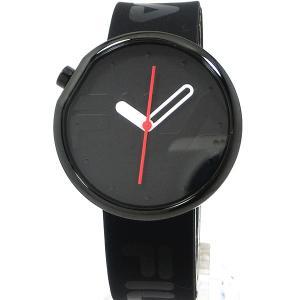 FILA フィラ 腕時計 ラバーベルト 38-161-102 ユニセックス 40mm オールブラック 在庫品 決算セール|pre-ma
