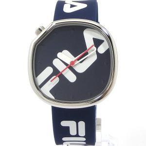 FILA フィラ 腕時計 ラバーベルト 38-162-101 ユニセックス 40mm ネイビー 新品決算セール|pre-ma