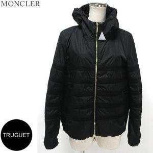 モンクレール ナイロン ジャケット パーカー レディース TRUGUET 999/ブラック サイズ(1)限定  MONCLER|pre-ma