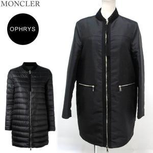 モンクレール ライト ダウン コート/リバーシブルジャケット レディース OPHRYS 999/ブラック  MONCLER|pre-ma