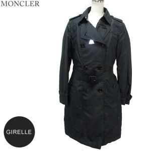 モンクレール トレンチコート ライトダウン  レディース GIRELLE 999/ブラック  MONCLER|pre-ma