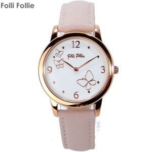 フォリフォリ Folli Follie 腕時計 WF17R030SPS-PI レザー WONDERFLY ワンダーフライ レディース|pre-ma