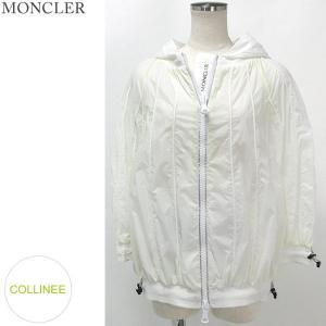 モンクレール マウンテンパーカー パーカ レディース COLLINEE 035/ホワイト MONCLER グルノーブル|pre-ma