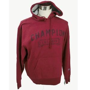 チャンピオン パーカー メンズ 裏起毛 プルオーバー RY3 バーガンディ サイズ(表記L) Champion S1231-549298 新品アウトレット|pre-ma