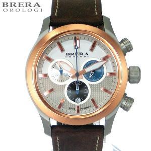 ブレラ オロロジ メンズ腕時計 BRET3C4303 クロノグラフ BRERA OROLOGI  Eterno Chrono スイス製クォーツ|pre-ma