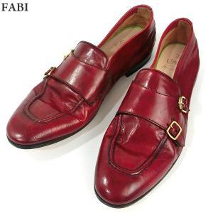 FABI ファビ 紳士靴 モカシン 8552 ROSSO レッド系 サイズ UK8(26.5cm) メンズ イタリア製 新品アウトレット-27|pre-ma
