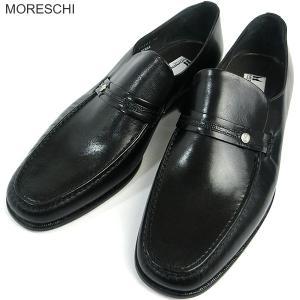 MORESCHI モレスキー  紳士靴 ローファー 21942 ブラック サイズ 11 (29.5-30cm) イタリア製 新品アウトレット-33|pre-ma