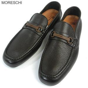 MORESCHI モレスキー  紳士靴 ローファー 42786 ダークブラウン サイズ 7(25.5cm)  イタリア製 新品アウトレット-40|pre-ma