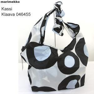マリメッコ marimekko Kassi Klaava ショルダーバッグ ナイロン 046455 159  折り畳み|pre-ma