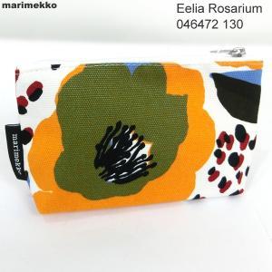 マリメッコ marimekko ポーチ  EELIA ROSARIUM COSMETIC BAG  046472 130 新品セール|pre-ma