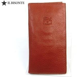 イルビゾンテ 財布 IL BISONTE 長財布 二つ折り C0974 P 214 ブラウン|pre-ma