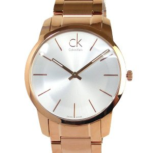 カルバンクライン メンズ 腕時計 K2G21646 43mm ローズゴールド/シルバー ステンレス 新品 pre-ma