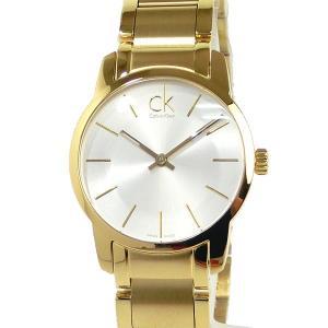 カルバンクライン レディース 腕時計 K2G23546 31mm イエローゴールド/シルバー ステンレス 新品 決算セール|pre-ma