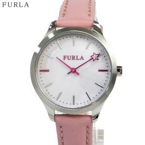 フルラ 腕時計 レディース 4251119509  FURLA LIKE 32mm ホワイトシェル/ シルバー ピンクレザー|pre-ma
