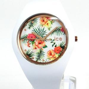 ICE WATCH アイスウォッチ ICE FLOWER アイスフラワー 016672 40mm 腕時計 LEGEND MEDIUM 【新品アウトレット箱不良】|pre-ma