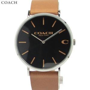 コーチ COACH  メンズ 腕時計 14602155 ブラック/ブラウンレザー 40mm【アウトレット展示品】|pre-ma