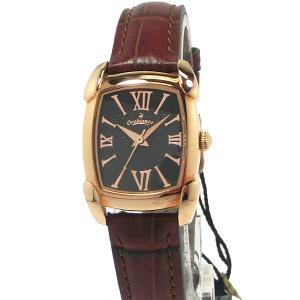 Orobianco TIMEORA オロビアンコ レディース 腕時計 RettangLina OR-0028-9 トノー ローズゴールド レザー 【アウトレット展示品】|pre-ma