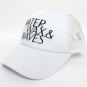 ロンハーマン Ron Herman WATER WAX & WAVES Cap メッシュ キャップ ホワイト RHC フリーサイズ 26210-049|pre-ma