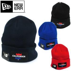 ロンハーマン x New Era ニューエラ ニットキャップ ニット帽 フリーサイズ 24210-131 CALIFORNIA BEANIE ネコポスは送料無料|pre-ma