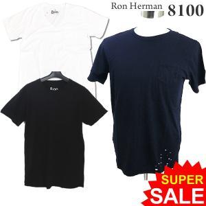 ロンハーマン Ron Herman 8100 クルーネック Tシャツ ダメージ加工 メンズ RHC 99209-05 コットン100% 決算SSP|pre-ma
