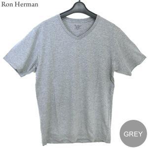 ロンハーマン Ron Herman Vネック Tシャツ V NECK TEE メンズ  グレー  RHC 99201 コットン100% 決算SSP|pre-ma