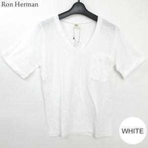 ロンハーマン Ron Herman RHC Tシャツ Supimaslub レディース 24109-0321 サイズ限定 表記S(L相当) スーピマ コットン 定形外郵便OK|pre-ma