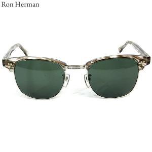 ロンハーマン Ron Herman × 金子眼鏡 サングラス CLUB MASTER メンズ 27213-005 BROWN ブラウン|pre-ma