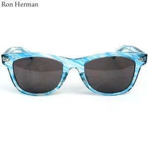 ロンハーマン Ron Herman × 金子眼鏡 サングラス WAY FARER メンズ 25213-027 IT BLUE/ブルー 決算SSP|pre-ma