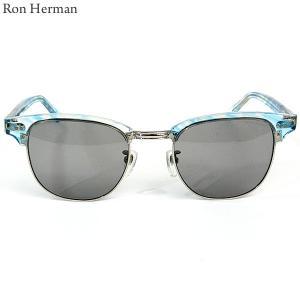 ロンハーマン Ron Herman × 金子眼鏡 サングラス CLUB MASTER メンズ 25213-029 IT BLUE ブルー|pre-ma