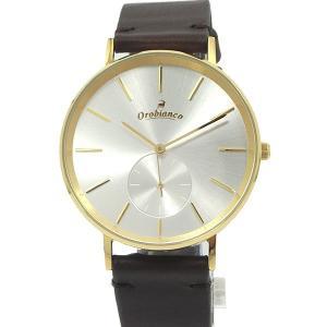 オロビアンコ メンズ 腕時計 OR-0061-1 レザー JAPAN MADE  Orobianco SAMPLICITUS|pre-ma