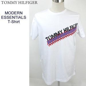 トミーヒルフィガー TOMMY HILFIGER Tシャツ メンズ MODERN ESSENTIALS T-SHIRT 09T3549 100 WHITE 決算SSP|pre-ma