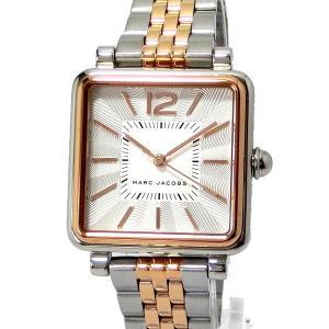 マークジェイコブス MARC JACOBS レディース 腕時計 MJ3463 ヴィク VIC スクエア シルバー/ローズゴールド|pre-ma