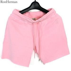 ロンハーマン RHC RON HERMAN puffy shorts ショートパンツ スウェット 短パン メンズ  2620600117 ピンク サイズS限定|pre-ma