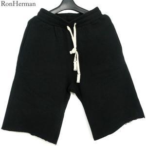 ハーマン HERMAN ショートパンツ スウェット 短パン メンズ  2320600221 ブラック|pre-ma