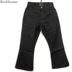 ロンハーマン ヴィンテージ RON HERMAN VINTAGE BLACK/ブラック デニム パンツ  レディース 2410600100|pre-ma
