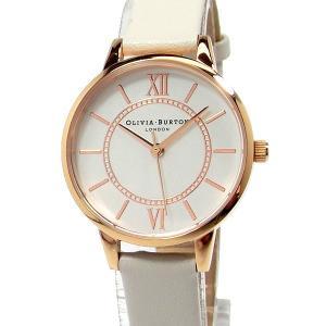 オリビアバートン OLIVIA BURTON 腕時計 レディース OB16WD63 30mm アイボリー【新品アウトレット】|pre-ma