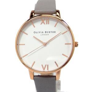 オリビアバートン OLIVIA BURTON 腕時計 レディース OB16BDW16 38mm グレーレザー【新品アウトレット】|pre-ma